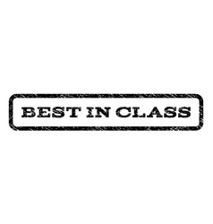 best in class watermark stamp vector image vector image