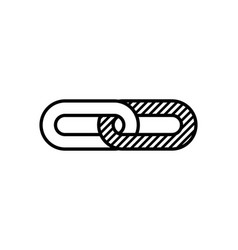 Chain icon design vector