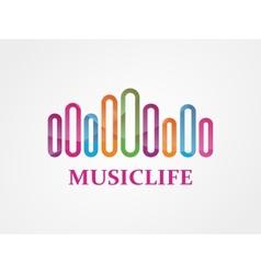 Music logo vector