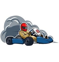 Run fast gokart vector