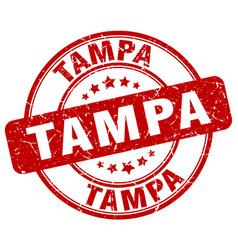 Tampa stamp vector