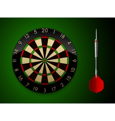 Dart board vector