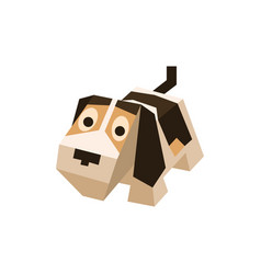 breed isometric beagle vector image