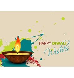 Diwali splashes vector