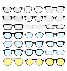Glasses 2 vector image vector image