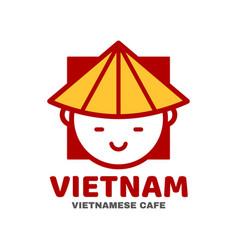 Vietnam logo template design vector