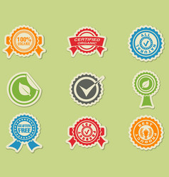 Seals icon vector