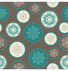 Abstract christmas and new year seamless pattern vector