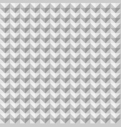 abstract geometric arrow seamless pattern vector image