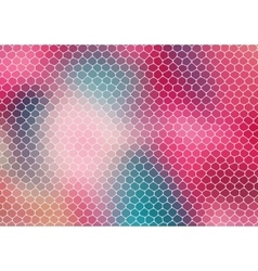 Colorful mosaic composition with ceramic shapes vector