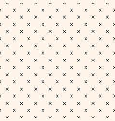 minimalist texture geometric seamless pattern vector image vector image