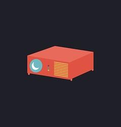 Projector computer symbol vector