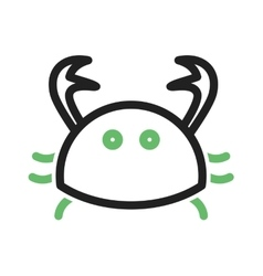Crab vector image vector image
