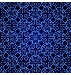 seamless celtic wallpaper vector image