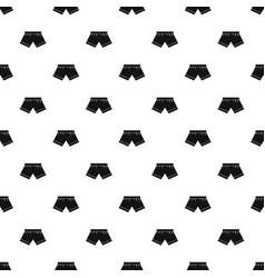 Male underwear pattern vector