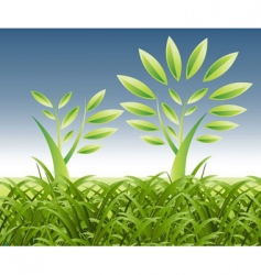 Landscape growth vector