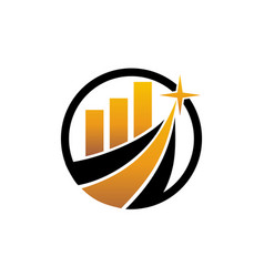 business success service vector image