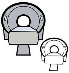 Ct scanner vector