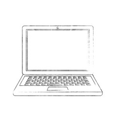 laptop pc computer vector image