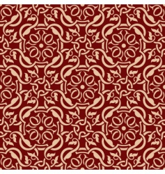 seamless celtic wallpaper vector image