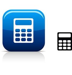 Calculate icon vector