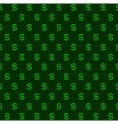Dollar Seamless Pattern Background vector image