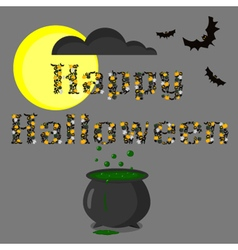 Halloween word vector