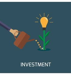 investment vector image vector image