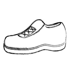 moccasin shoe isolated icon vector image