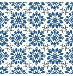 Ornamental pattern Turkish seamless background vector image vector image