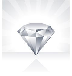 Shiny Diamond vector image