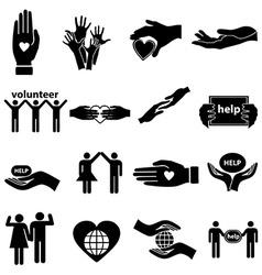 Volunteer Icon Vector
