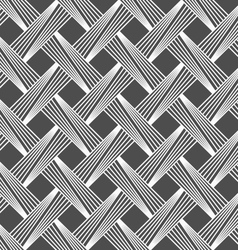Monochrome pattern with light gray diagonally vector