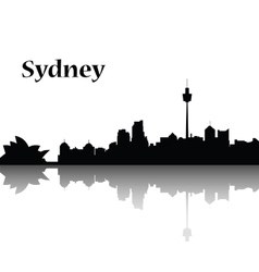 Sydney city skyline vector