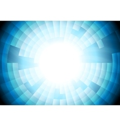 Light blue tech gear background vector