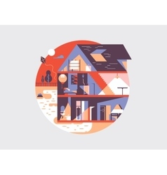 House planning vector
