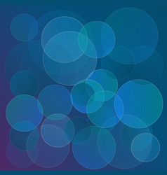 abstract circles background template for design vector image vector image