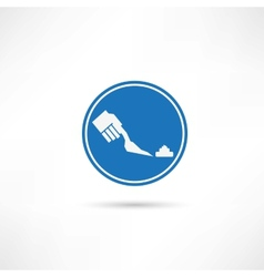 Clean up icon vector
