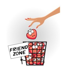 Friend zone vector