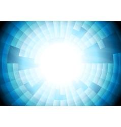 Light blue tech gear background vector