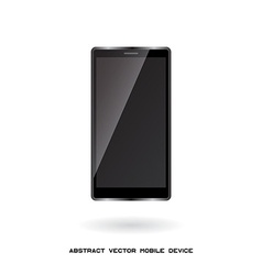 mobile device modern gadget vector image vector image