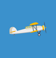 modern cargo plane on a light background vector image vector image