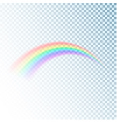 rainbow icon colorful light and bright design vector image vector image