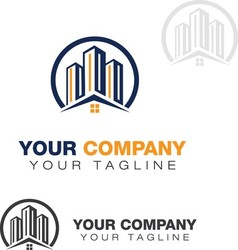 Realty logo 9 vector