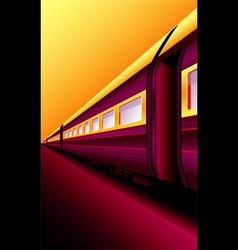 Oriental express vector image