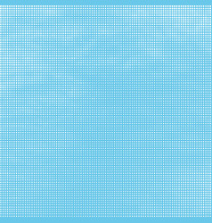 halftone background abstract white dots on blue vector image