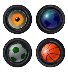 Cameralens2 vector image