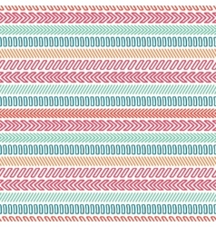 Hand drawn geometric hipster line seamless pattern vector