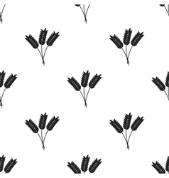 Wheat ears pattern vector