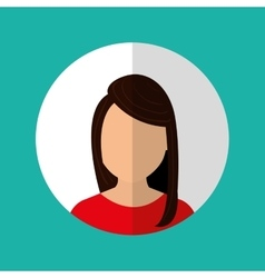 People profile graphic vector